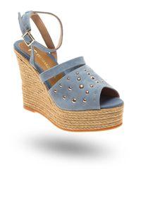 Sandały Trussardi Jeans na spacer, na lato
