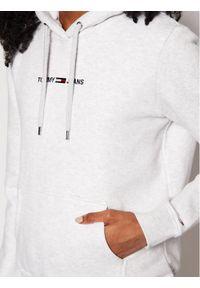 Tommy Jeans Bluza Tjw Linear Logo DW0DW10132 Szary Regular Fit. Kolor: szary