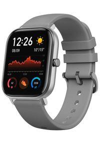 AMAZFIT - Amazfit smartwatch GTS, Lava Grey. Rodzaj zegarka: smartwatch. Kolor: szary. Styl: sportowy