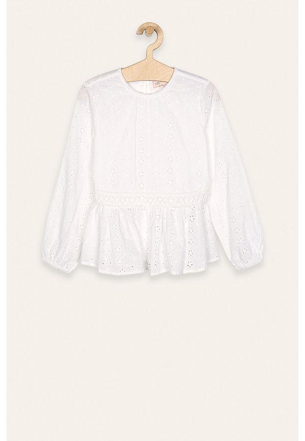 Biała bluzka Kids Only casualowa, długa