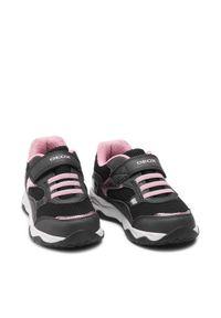 Geox Sneakersy J Calco G. A J15CMA 0BC14 C0618 S Czarny. Kolor: czarny