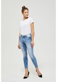 MOODO - Jeansy skinny. Długość: długie