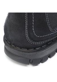 Czarne buty zimowe Go Soft z cholewką