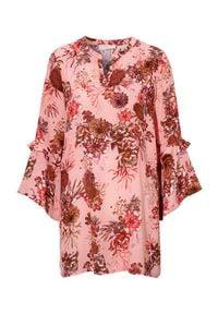 Cream Tunika Latisha różowy we wzory female różowy/ze wzorem 38. Kolor: różowy. Materiał: tkanina