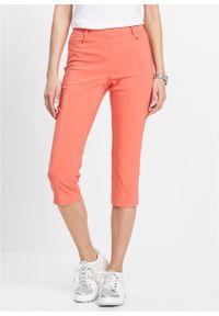 Pomarańczowe spodnie bonprix