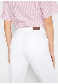 Dżinsy ze stretchem CLASSIC, bestsellery bonprix biały. Okazja: na co dzień. Kolor: biały. Styl: casual