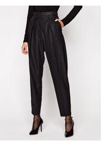 Czarne spodnie materiałowe IRO