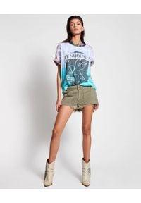 ONETEASPOON - Bawełniany t-shirt Fun House Boyfriend. Okazja: na co dzień. Kolor: różowy, fioletowy, wielokolorowy. Materiał: bawełna. Wzór: nadruk. Styl: casual