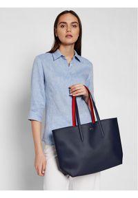 Lacoste Torebka Shopping Bag NF2142AA Czerwony. Kolor: czerwony