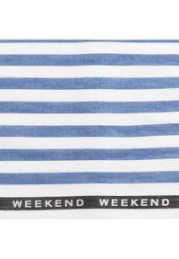 Niebieski szalik Weekend Max Mara