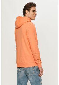 TOMMY HILFIGER - Tommy Hilfiger - Bluza bawełniana. Okazja: na co dzień. Kolor: pomarańczowy. Materiał: bawełna. Wzór: aplikacja. Styl: casual