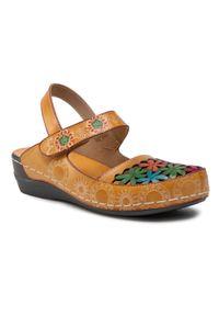 Brązowe sandały Laura Vita
