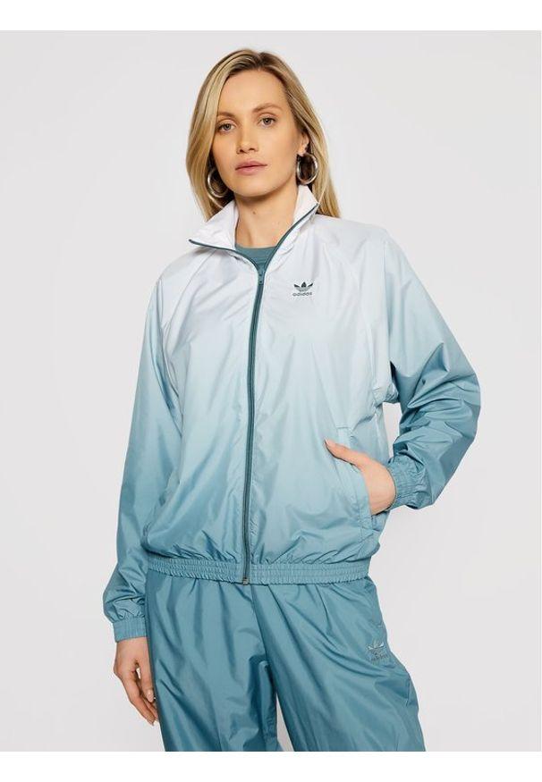 Zielona kurtka przejściowa Adidas