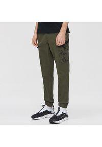Brązowe spodnie Cropp #1