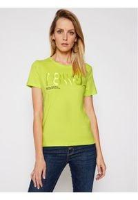 Guess T-Shirt G81 W1RI0B I3Z00 Żółty Regular Fit. Kolor: żółty