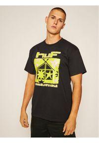 Czarny t-shirt HUF