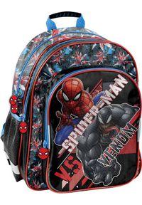 Paso Plecak szkolny Spiderman SPX-090 PASO. Wzór: motyw z bajki