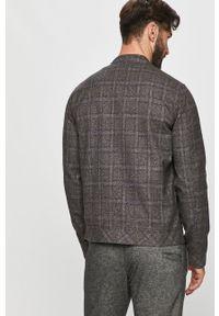 Szara kurtka Tailored & Originals na co dzień, bez kaptura, casualowa