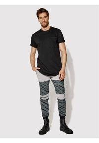 Rage Age Spodnie dresowe Saiph 2 Szary Slim Fit. Kolor: szary. Materiał: dresówka