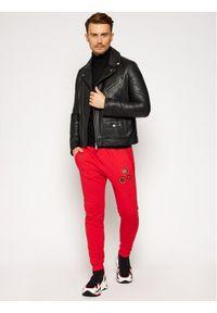 Czerwone spodnie dresowe Rage Age