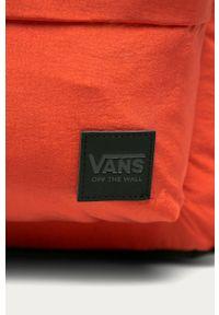 Vans - Plecak. Kolor: pomarańczowy. Materiał: materiał, nylon, poliester. Wzór: gładki #3