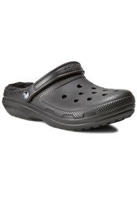 Crocs Klapki Classic Lined Clog 203591 Czarny. Kolor: czarny