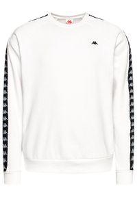 Kappa Bluza Harris 308016 Biały Regular Fit. Kolor: biały