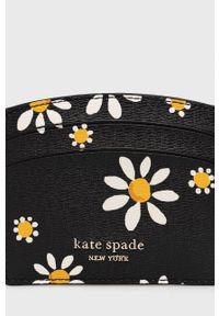 Kate Spade - Portfel skórzany. Kolor: czarny. Materiał: skóra