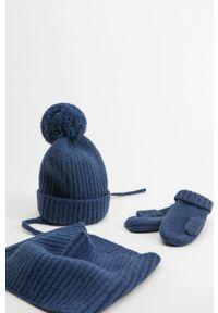Niebieska czapka Mango Kids