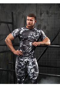 Koszulka sportowa FJ! z krótkim rękawem, krótka, na fitness i siłownię