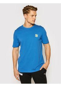 Puma T-Shirt 530910 Granatowy Regular Fit. Kolor: niebieski
