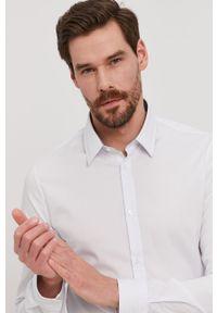 Biała koszula Marciano Guess z długim rękawem, długa, klasyczna