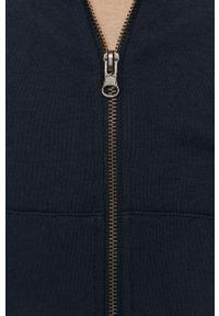 Niebieska bluza rozpinana Jack & Jones casualowa, na co dzień