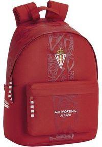 Plecak Real Sporting de Gijon Plecak na Laptopa Real Sporting de Gijón 14,1'' Czerwony. Kolor: czerwony