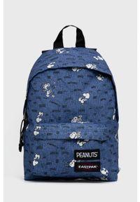 Eastpak - Plecak X Peanuts. Kolor: niebieski