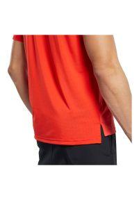 Koszulka męska Reebok Activchill FS8595. Materiał: tkanina, elastan, nylon, materiał. Długość rękawa: krótki rękaw. Długość: krótkie. Sport: fitness