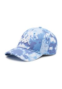 Kappa - Czapka z daszkiem KAPPA - Ibish 309099 Skydiver 4151. Kolor: niebieski. Materiał: materiał, bawełna
