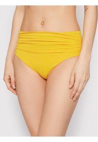 Chantelle Dół od bikini Oxygene C69380 Żółty. Kolor: żółty