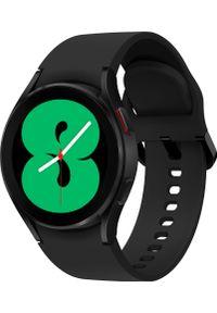 SAMSUNG - Smartwatch Samsung Galaxy Watch 4 Aluminum 40mm Czarny (SM-R860NZKAEUE). Rodzaj zegarka: smartwatch. Kolor: czarny