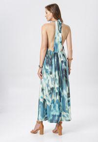 Born2be - Niebieska Sukienka Daeisa. Kolor: niebieski