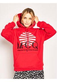 Czerwona bluza MCQ Alexander McQueen