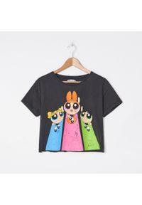 Szary t-shirt House