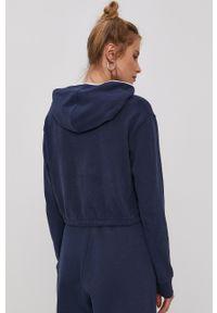Tommy Jeans - Bluza bawełniana. Okazja: na co dzień. Typ kołnierza: kaptur. Kolor: niebieski. Materiał: bawełna. Długość rękawa: długi rękaw. Długość: długie. Styl: casual