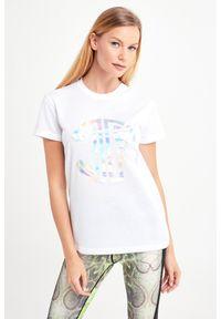 T-shirt John Richmond Sport sportowy, na co dzień, w kolorowe wzory