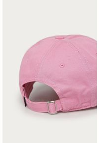 Różowa czapka z daszkiem Converse z aplikacjami