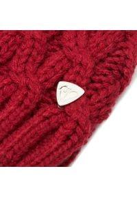 Rossignol - Czapka ROSSIGNOL - RLJWH03 Rospberry 371. Kolor: czerwony. Materiał: włókno, akryl, poliester, materiał