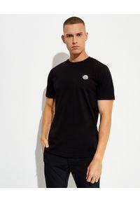 MONCLER - Bawełniane koszulki 3-pack. Kolor: szary. Materiał: bawełna. Wzór: aplikacja