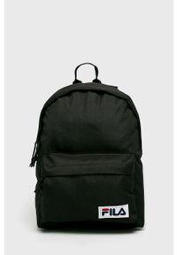 Czarny plecak Fila