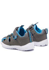 Niebieskie sandały KangaRoos rockowe, na lato