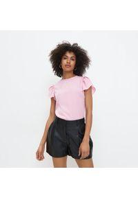 Różowa bluzka Mohito